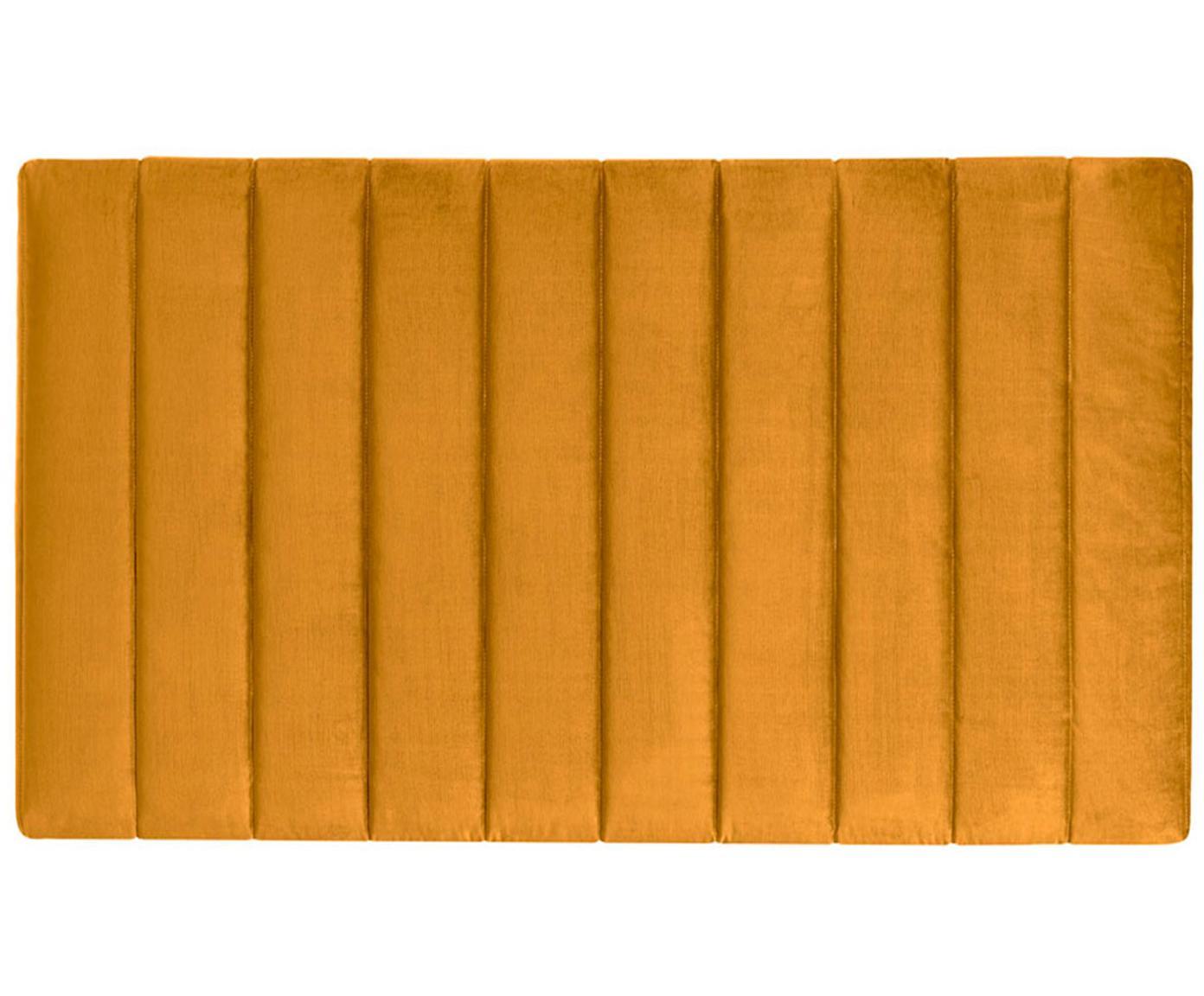 Cabecero Paris Stripe, Estructura: tablero de fibras de dens, Tapizado: 100%poliéster efecto ter, Interior: guata doble 500g (100%p, Mostaza, An 135 x Al 80 cm