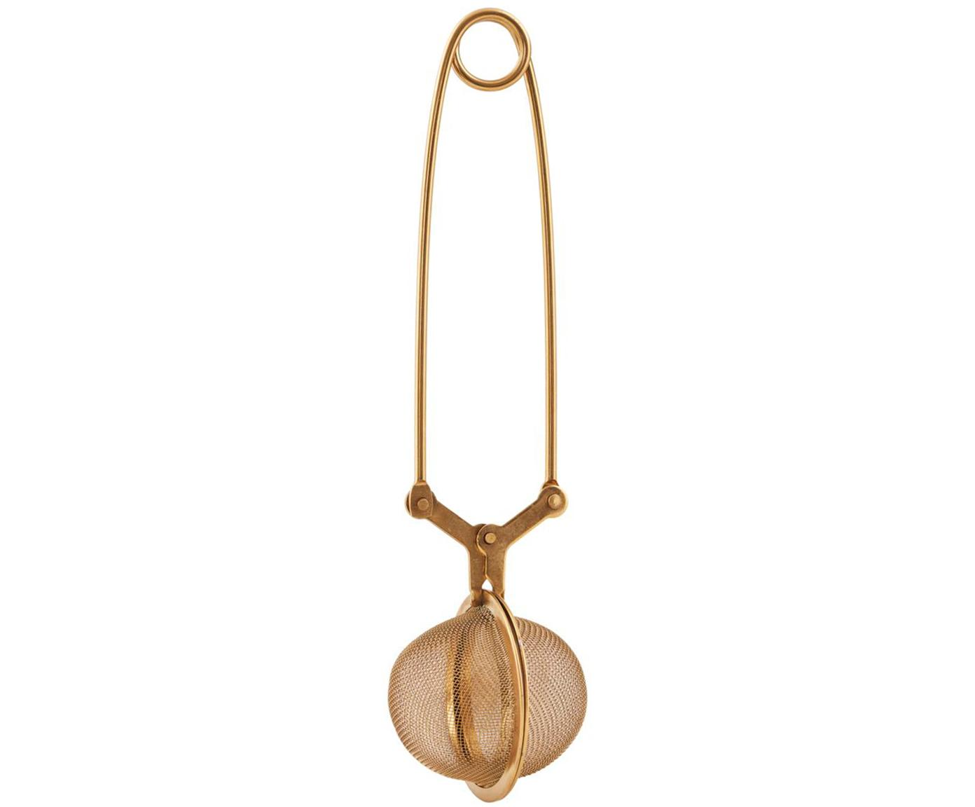 Sitko do herbaty Mesh, Stal szlachetna , lakierowana, Różowe złoto, D 17 cm
