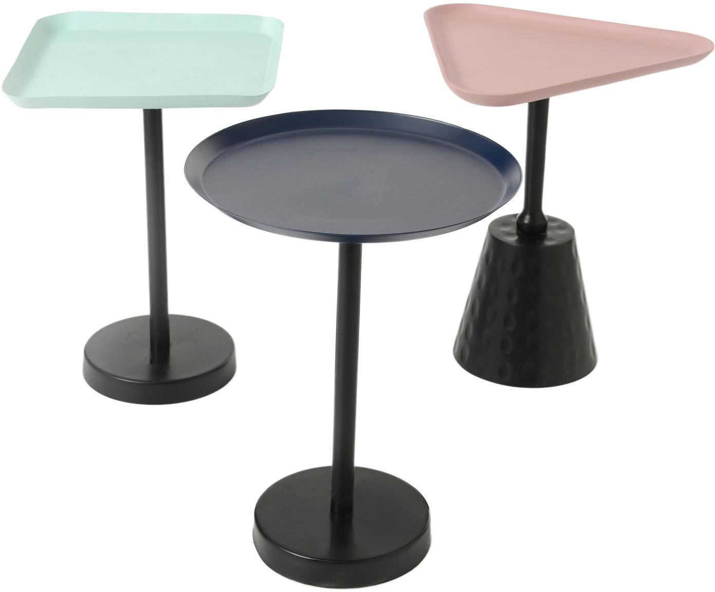 Set de mesas auxiliares Brunomali, 3pzas., Multicolor, Tamaños diferentes