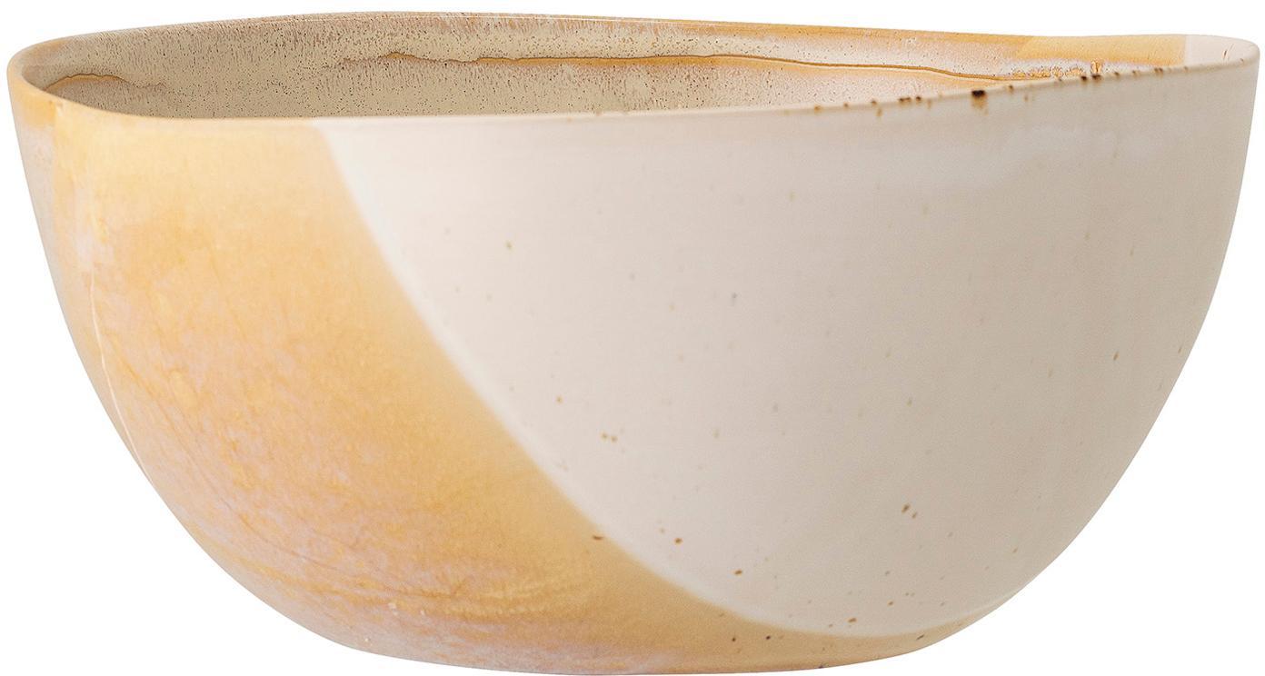 Handgemachtes Schälchen April mit effektvollen Farbverläufen, Steingut, Mehrfarbig, Ø 13 x H 7 cm