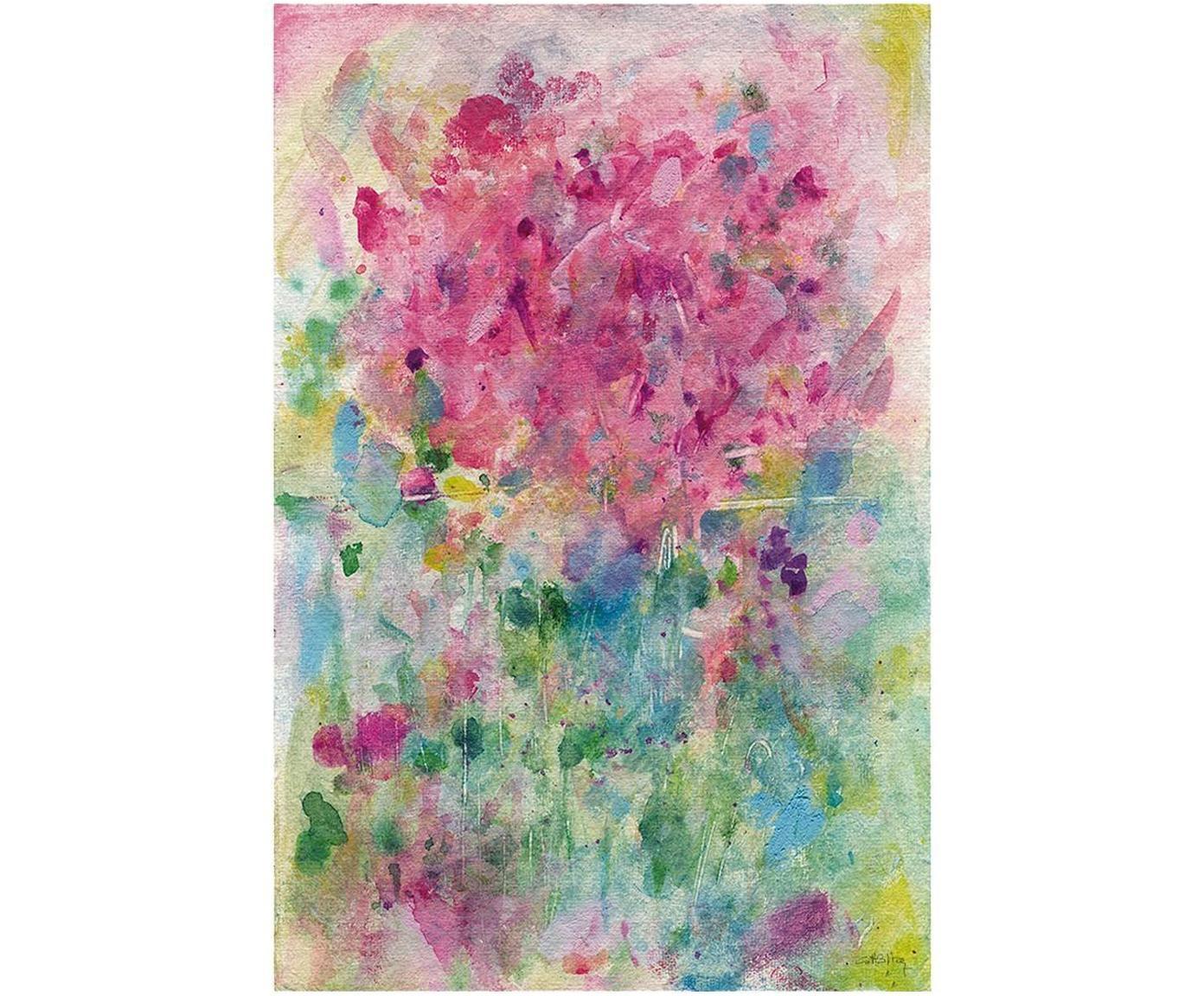Impresión digital sobre lienzo Eterno Presente, Multicolor, An 40 x Al 60 cm