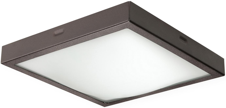Lampa sufitowa Nebris, Ciemny brązowy, 22 x 8 cm