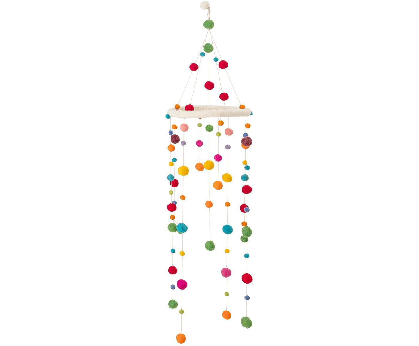 Babymobile Dots, Gestell: Holz, Mehrfarbig, Ø 24 x H 95 cm
