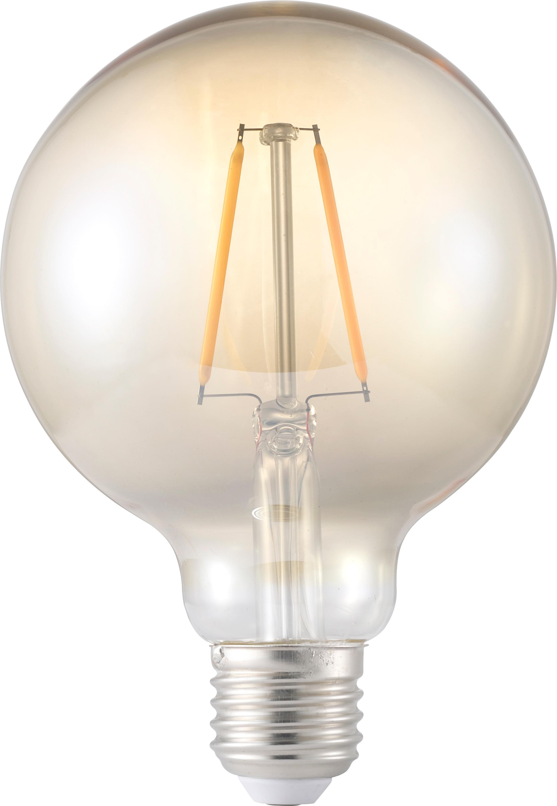 Lampadina a LED Rash (E27 / 1,2Watt), Lampadina: vetro, Ambra, Ø 10 x Alt. 14 cm
