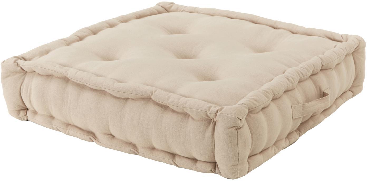 Cuscino da pavimento Gavema, Beige, Larg. 60 x Lung. 13 cm