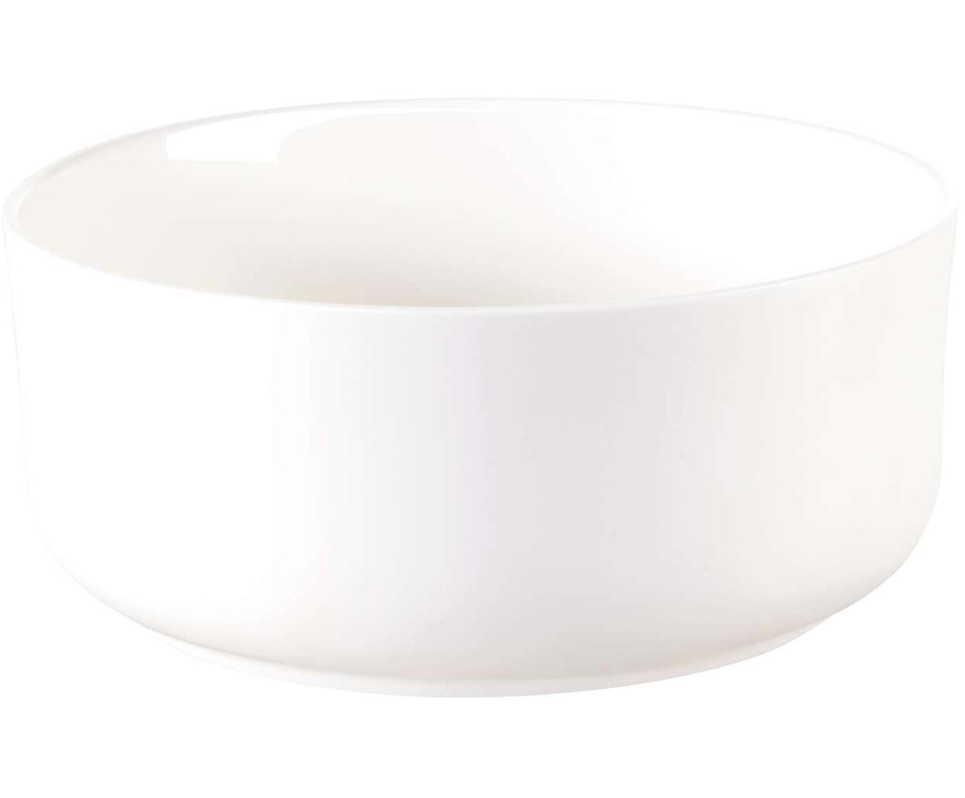 Schalen Oco, 6 stuks, Beenderporselein, Wit, Ø 12 cm