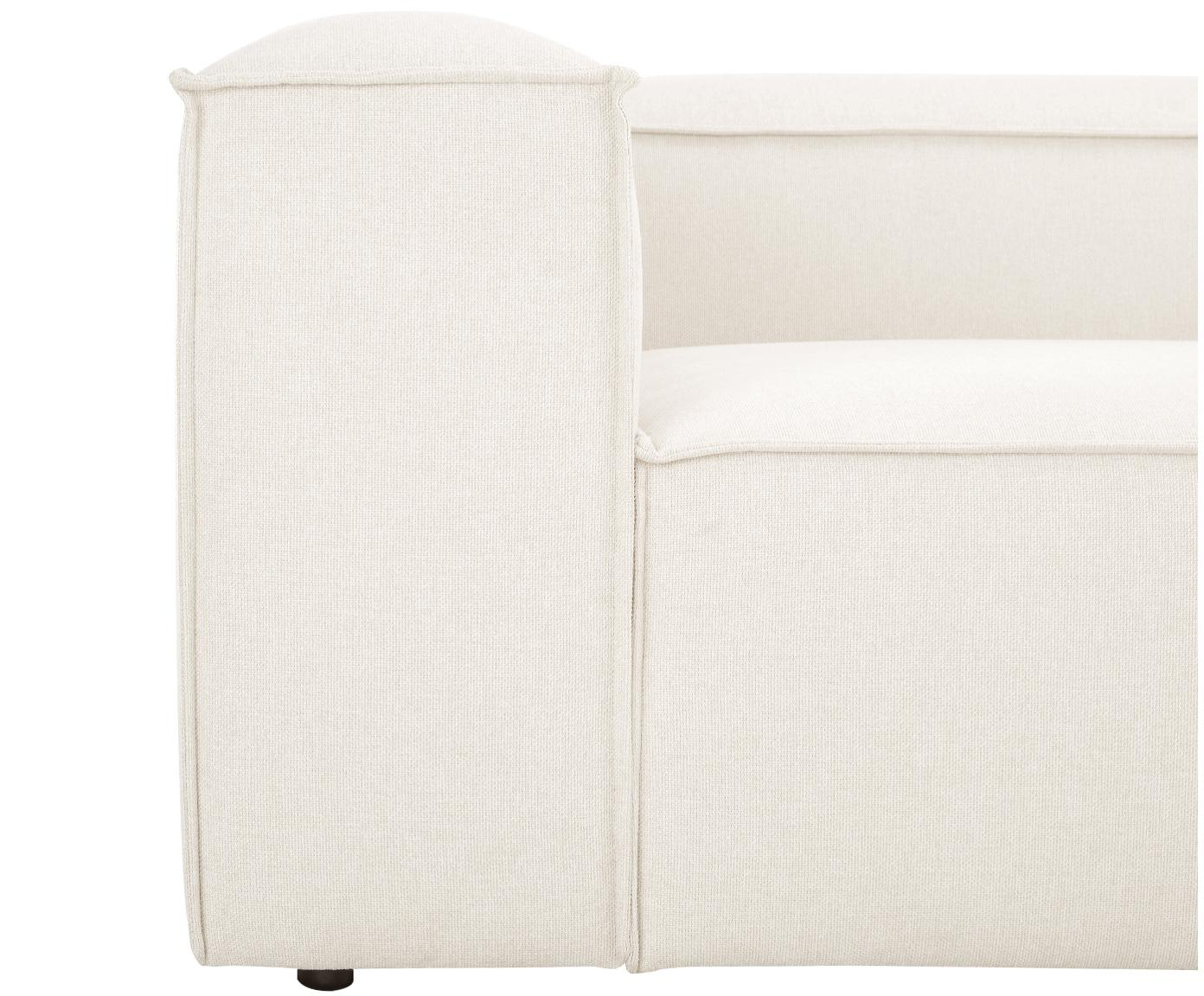 Modulaire XL chaise longue Lennon, Bekleding: polyester, Frame: massief grenenhout, multi, Poten: kunststof, Beige, B 357 x D 119 cm