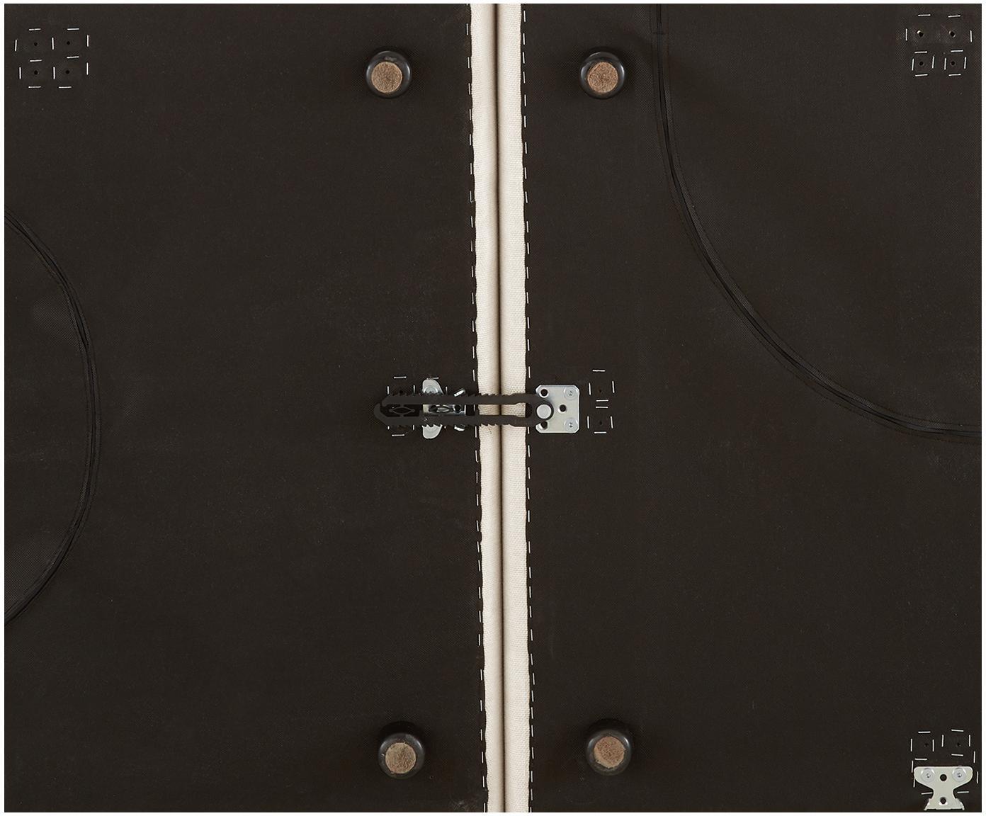 Szezlong modułowy XL Lennon, Tapicerka: poliester 35 000 cykli w , Stelaż: lite drewno sosnowe, skle, Nogi: tworzywo sztuczne, Beżowy, S 357 x G 119 cm