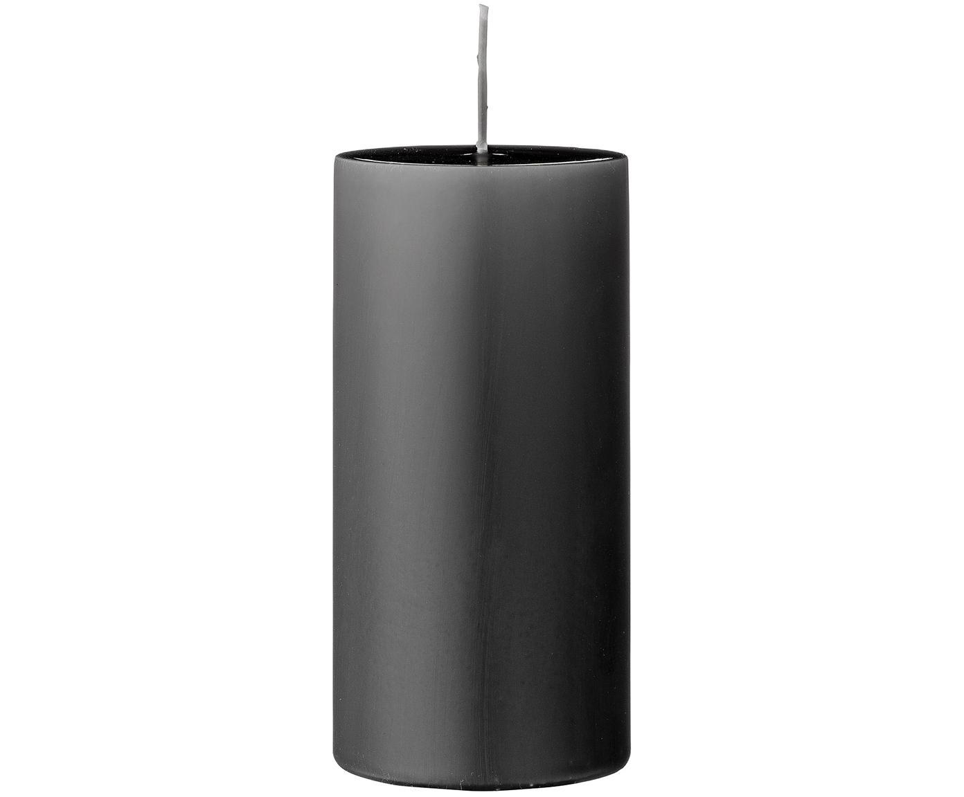 Candela pilastro Lulu 2 pz, Cera, Grigio, Ø 7 x Alt. 15 cm