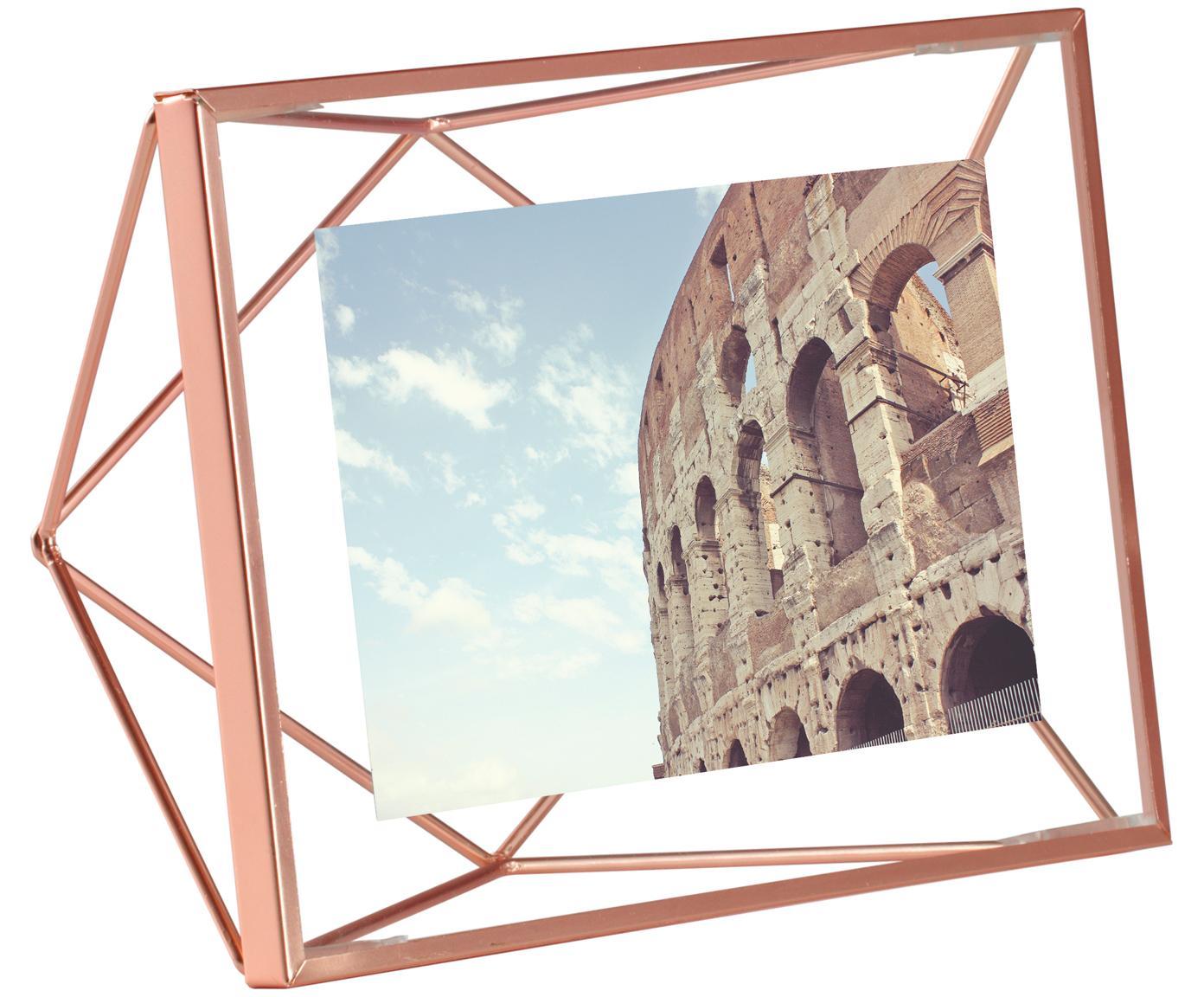 Fotolijstje Prisma, Frame: Staal, Koperkleurig, 10 x 15 cm