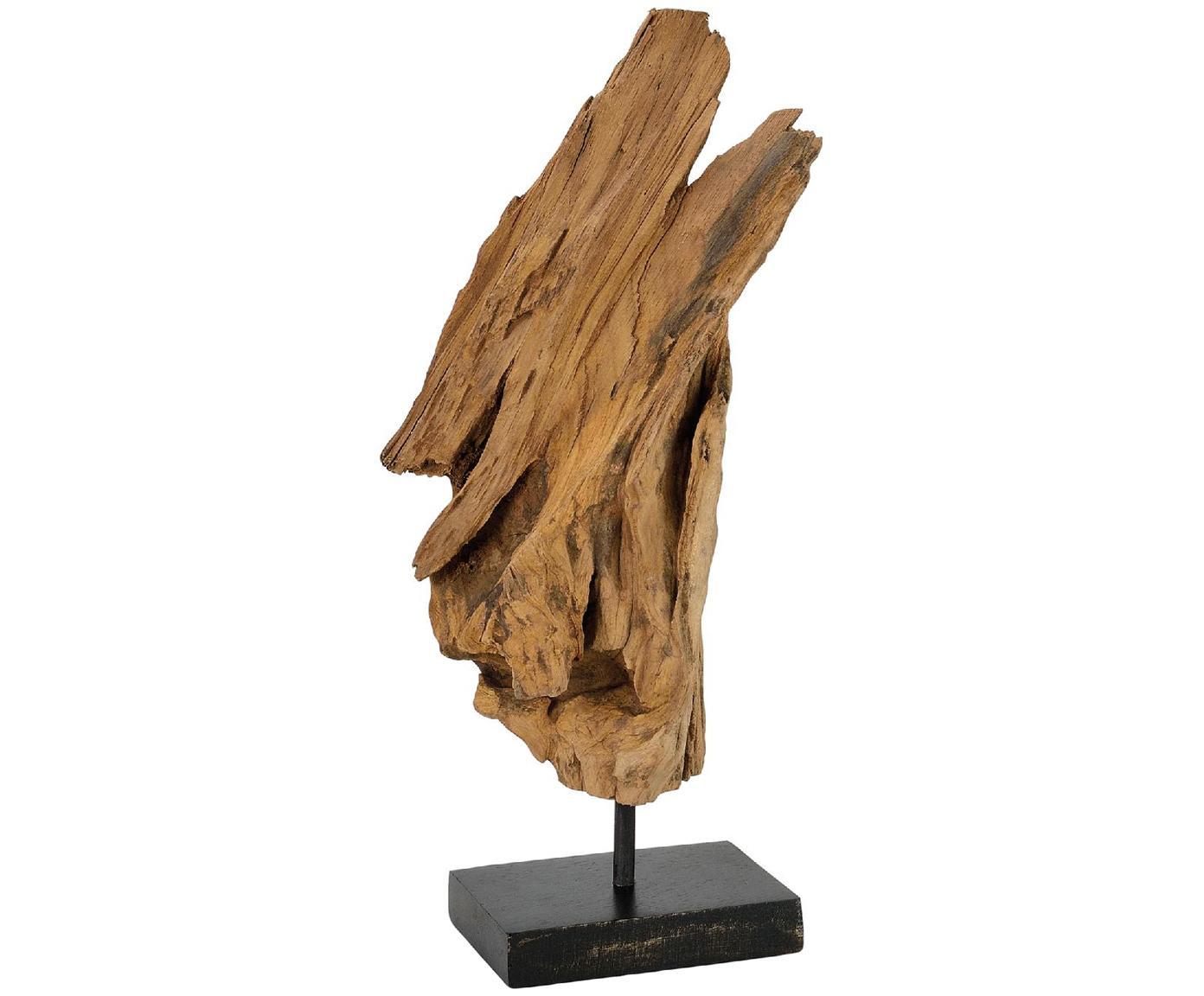 Deko-Objekt Acaia, Akazienholz, Braun, 18 x 38 cm