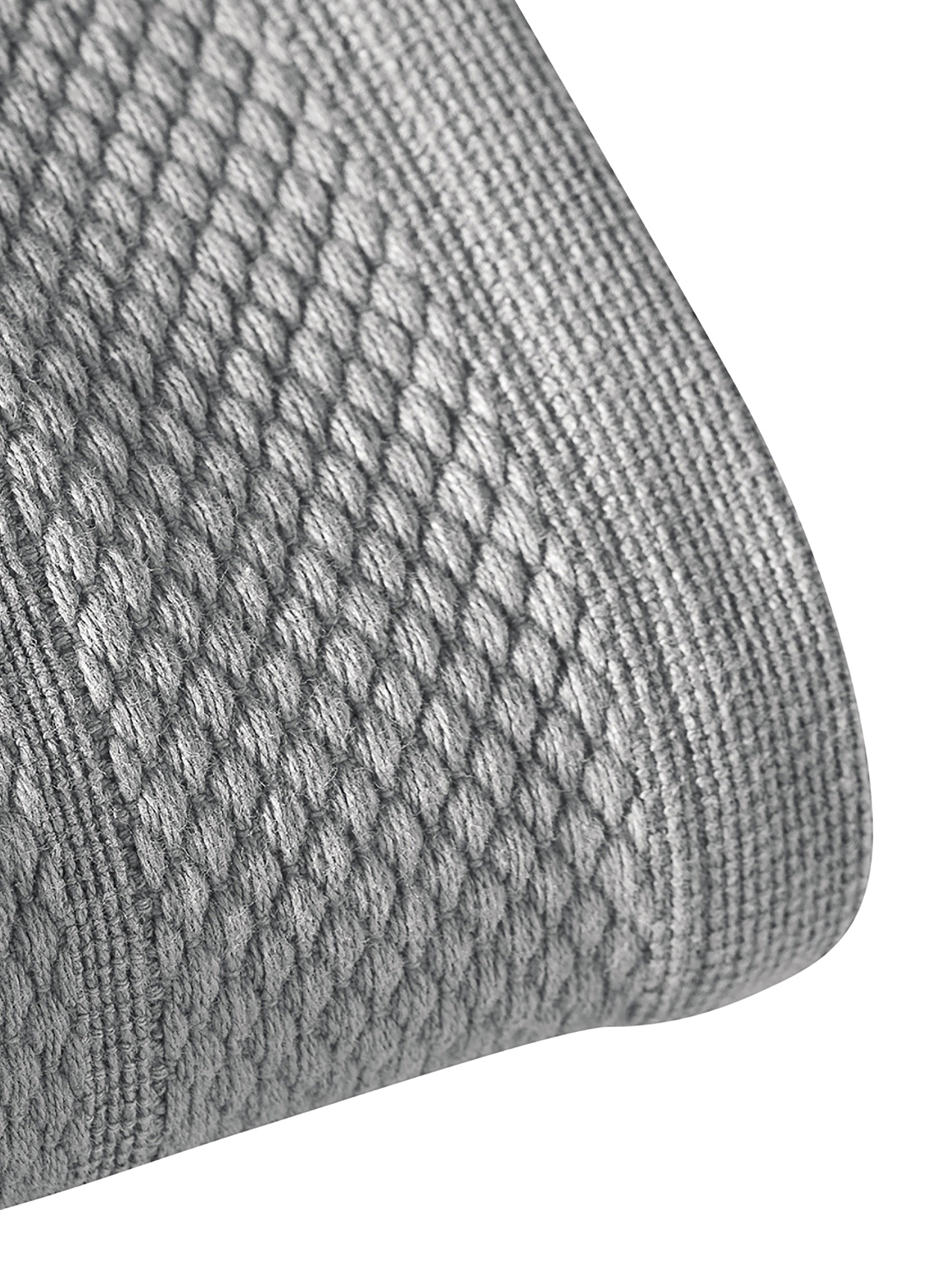 Handtuch Premium in verschiedenen Grössen, mit klassischer Zierbordüre, Dunkelgrau, Handtuch