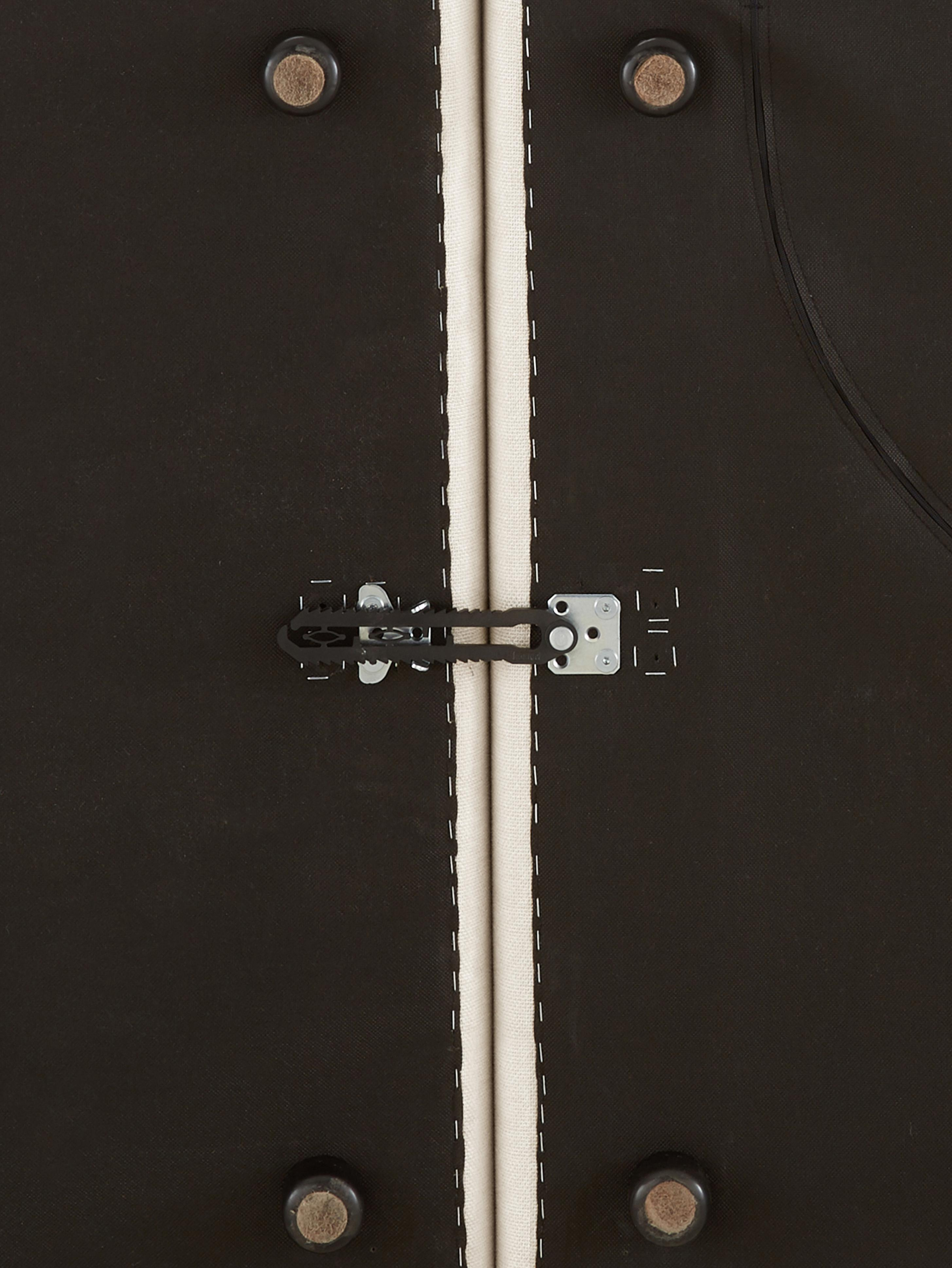 Modulare Ottomane Lennon, Bezug: Polyester 35.000 Scheuert, Gestell: Massives Kiefernholz, Spe, Füße: Kunststoff, Webstoff Beige, B 269 x T 119 cm