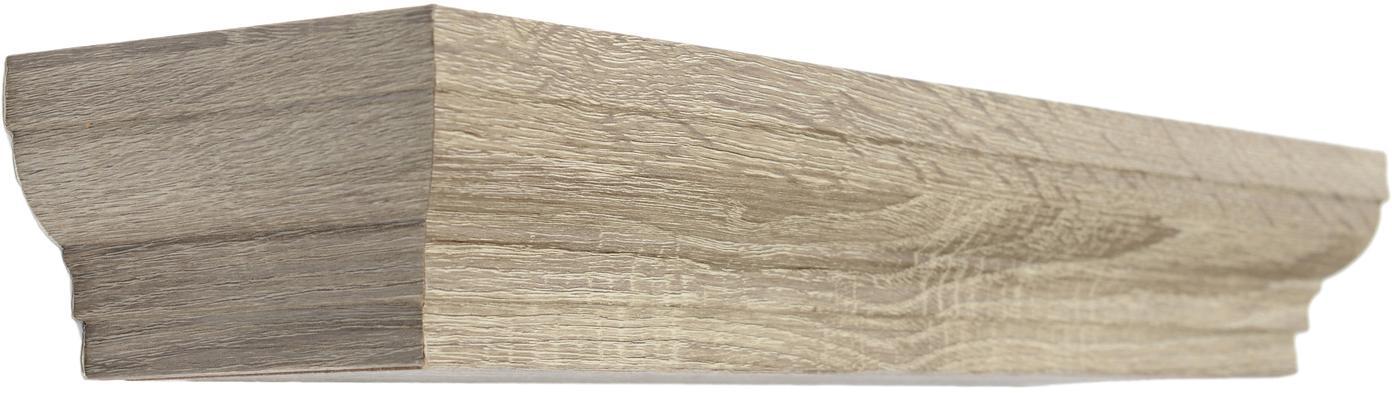 Estante de pared Nature, Madera, tablero de fibras de densidad media (MDF), Beige, An 51 x F 12 cm