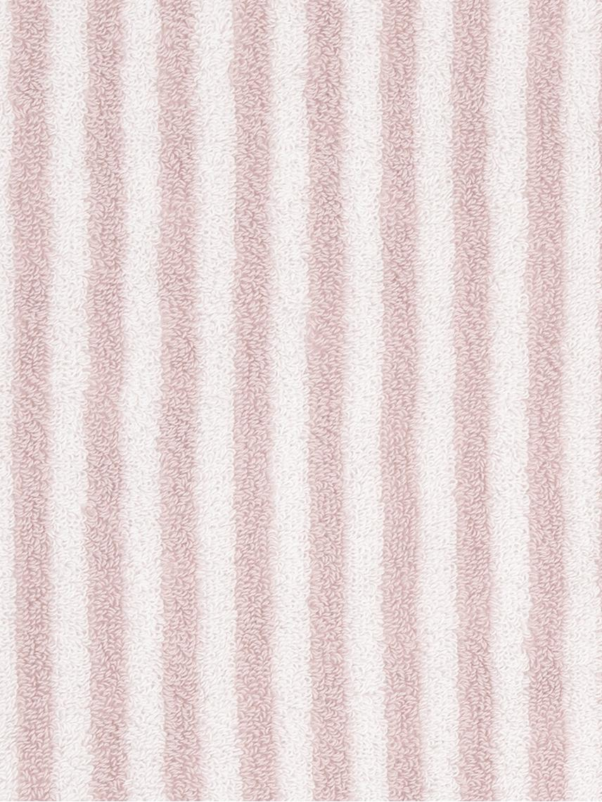 Set asciugamani reversibili Viola 3 pz, Rosa, bianco crema, Diverse dimensioni