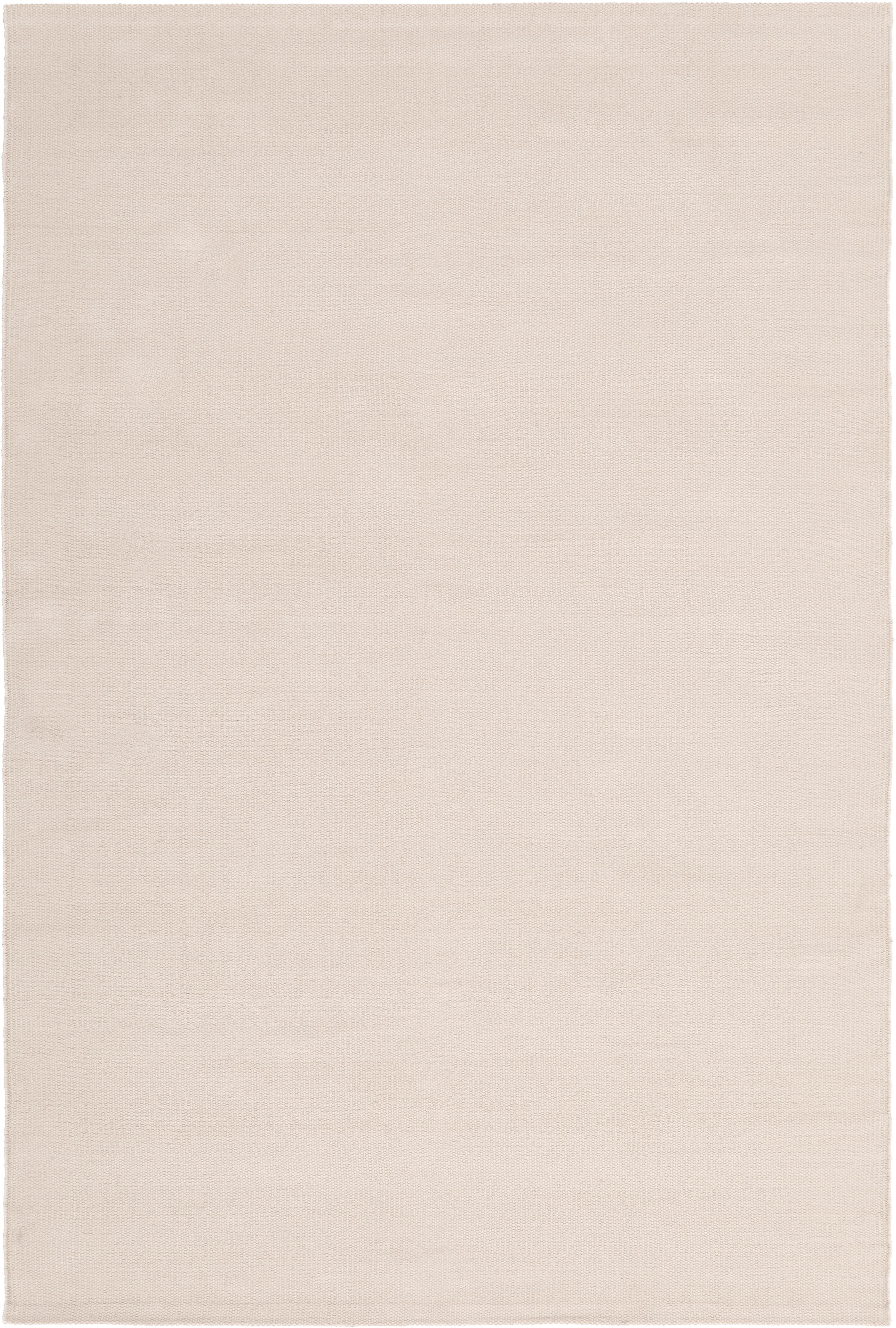 Tappeto in cotone tessuto a mano Agneta, Cotone, Taupe, Larg. 200 x Lung. 300 cm (taglia L)