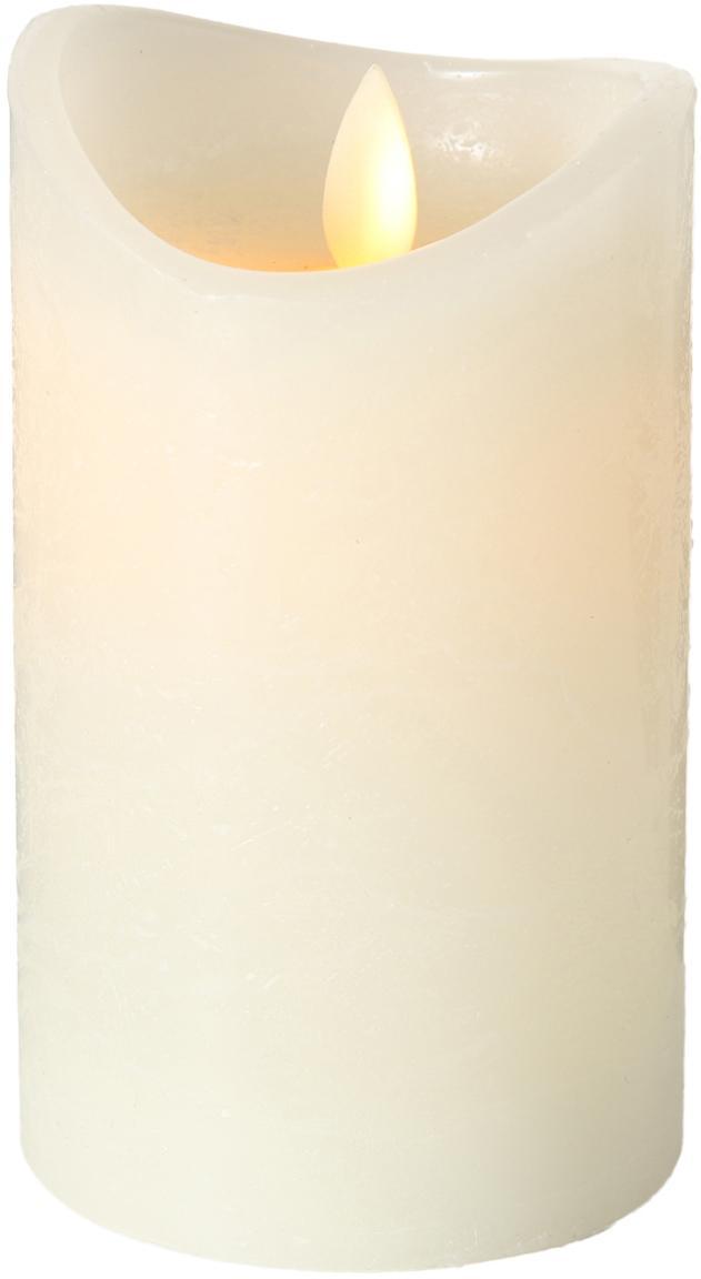 Candela a LED Bino, Color crema, Ø 8 x Alt. 12 cm