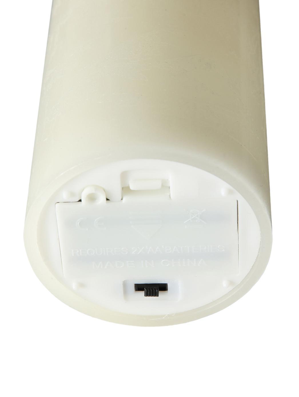 LED Kerze Bino, Cremefarben, Ø 8 x H 15 cm