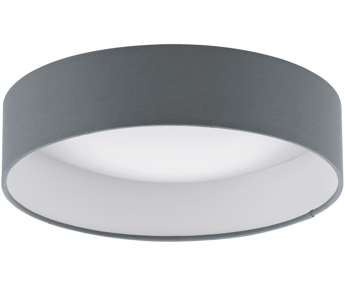 LED plafondlamp Paloma, Antraciet, Ø 50 x H 11 cm