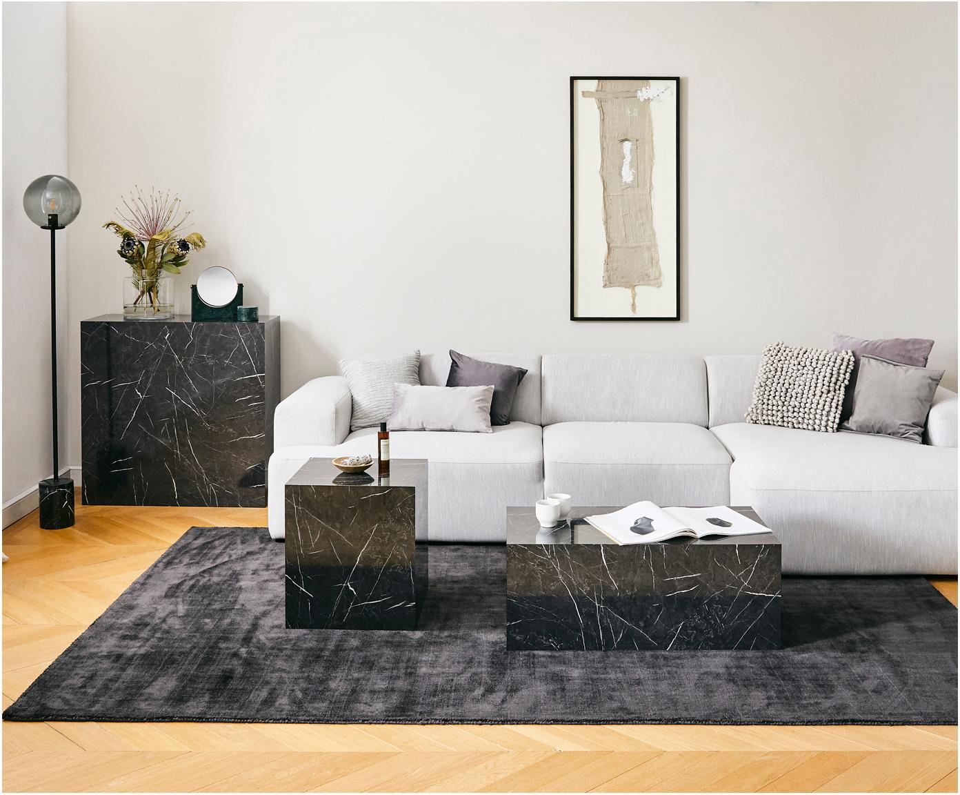 Poduszka z wypełnieniem Bergen, Jasny szary, S 45 x D 45 cm