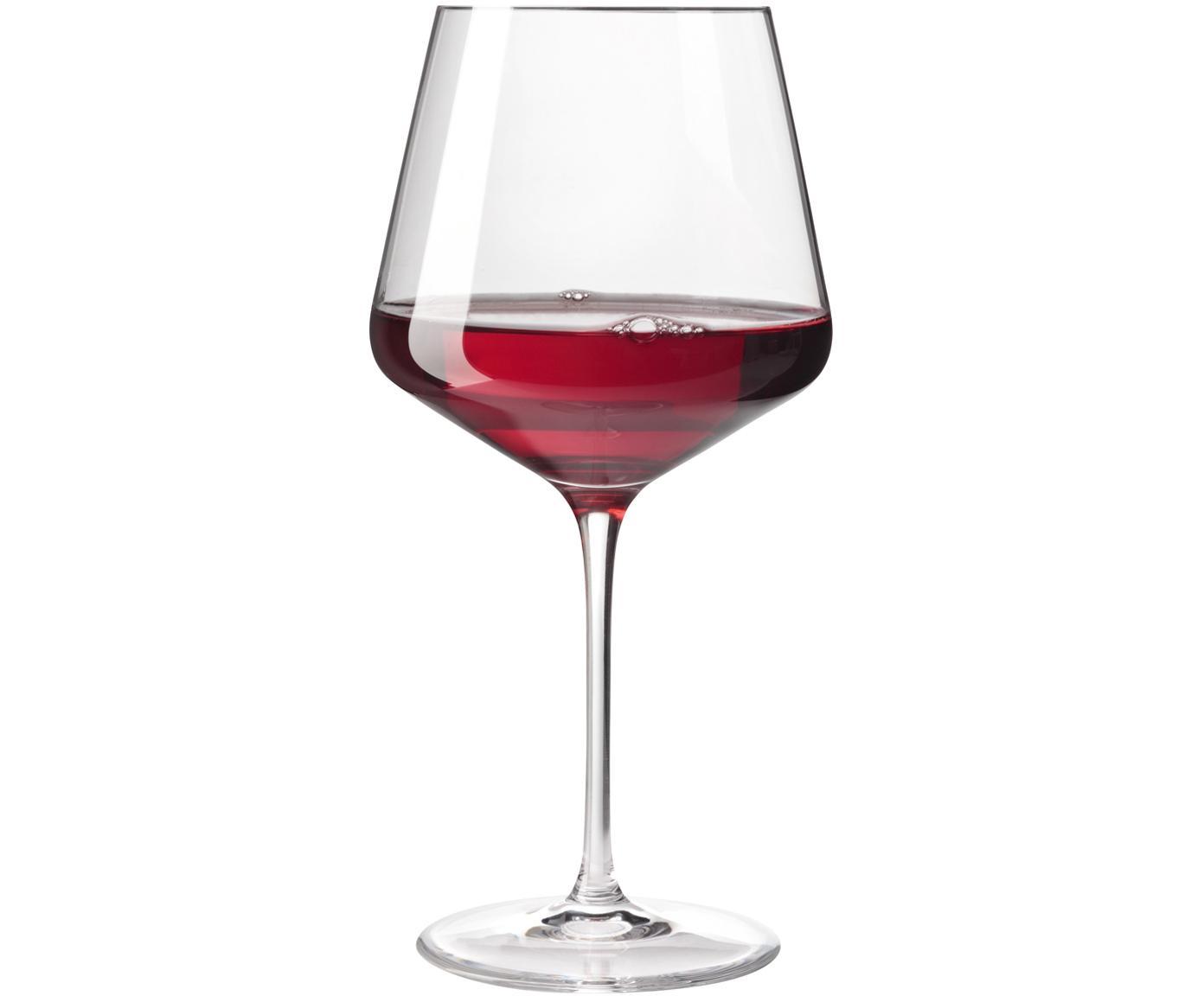 Copas de vino tinto Burgunder Puccini, 6uds., Vidrio Teqton®, Transparente, Ø 11 x Al 23 cm