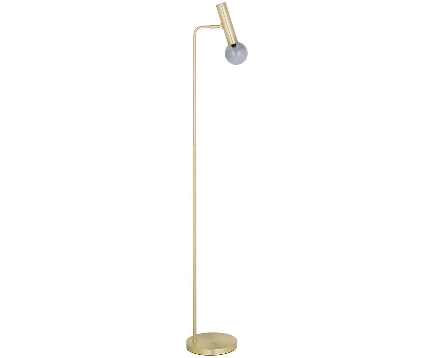 Lámpara de pieWilson, Pantalla: vidrio esmerilado, Latón, Ø 23 x Al 153 cm