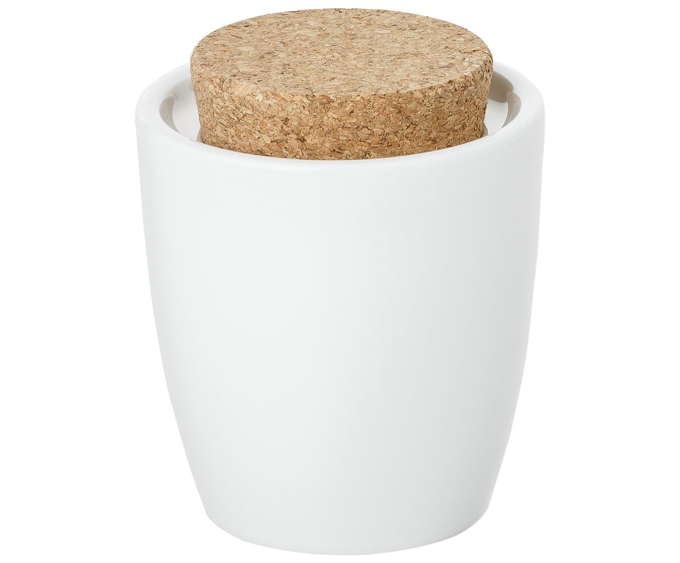 Azucarero Artesano Original, Porcelana, corcho, Blanco, 300 ml
