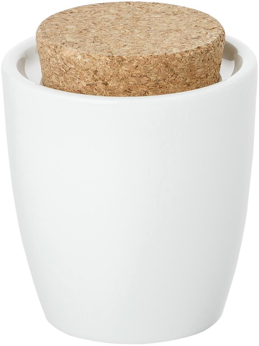 Cukiernica Artesano Original, Porcelana, korek, Biały, 300 ml