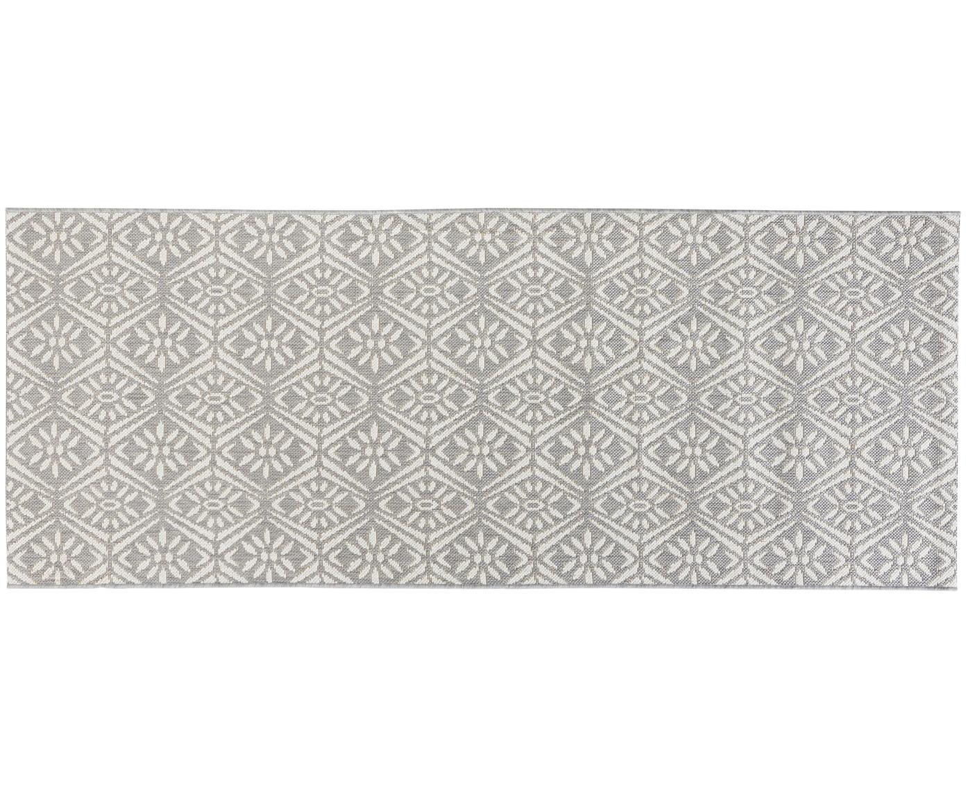 Alfombra Creation, Gris, crema, An 80 x L 200 cm