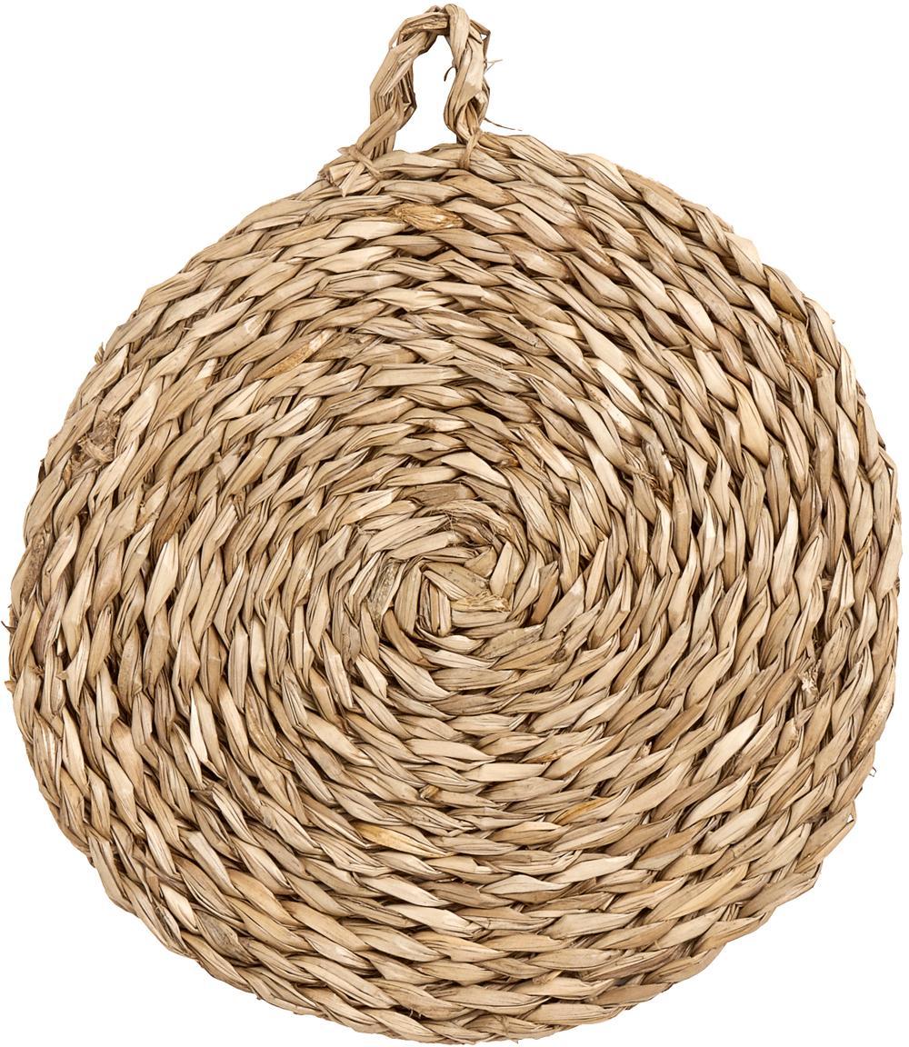 Tovaglietta americana rotonda Montreal 2 pz, Alghe, Beige, Ø 40 cm