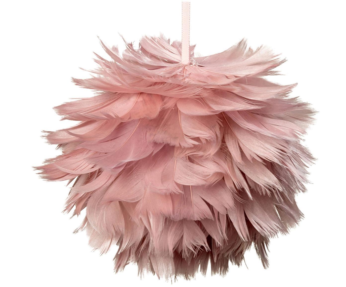 Baumanhänger Fay, 2 Stück, rosa, Ø 11 cm
