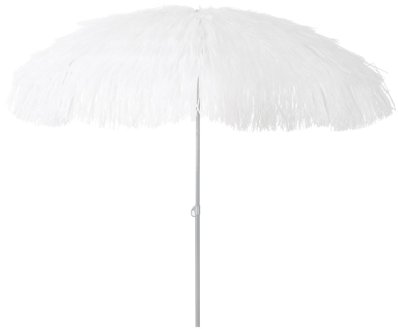 Parasol Hawaii, Wit, Ø 200 x H 210 cm