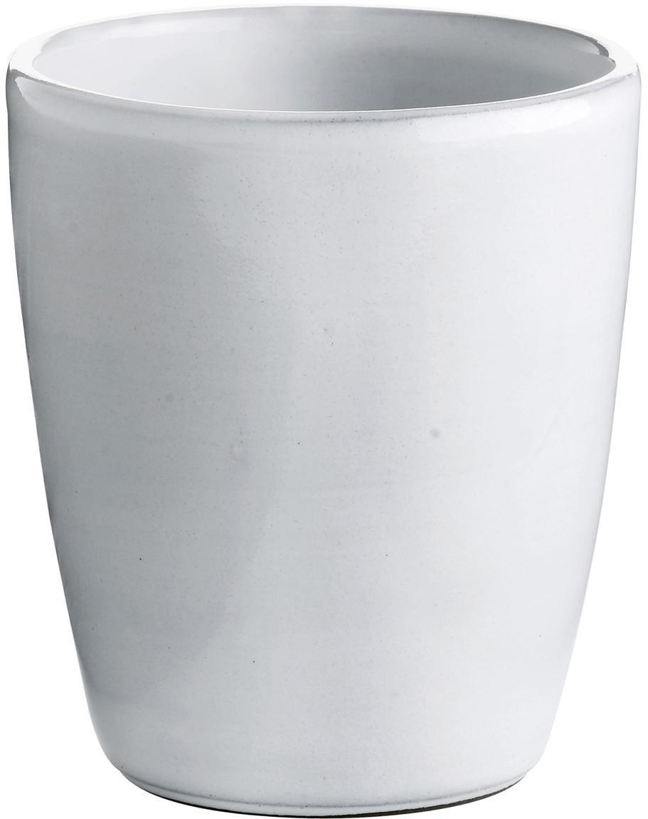 Kubek Haze, 2 szt., Ceramika szkliwona, Biały, szary, Ø 10 x 11 cm