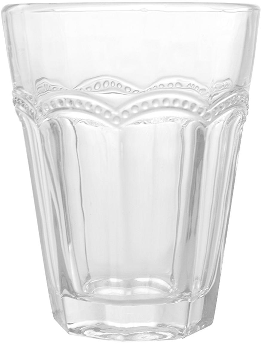 Bicchiere acqua Floyd 6 pz, Vetro, Trasparente, Ø 9 x Alt. 11 cm