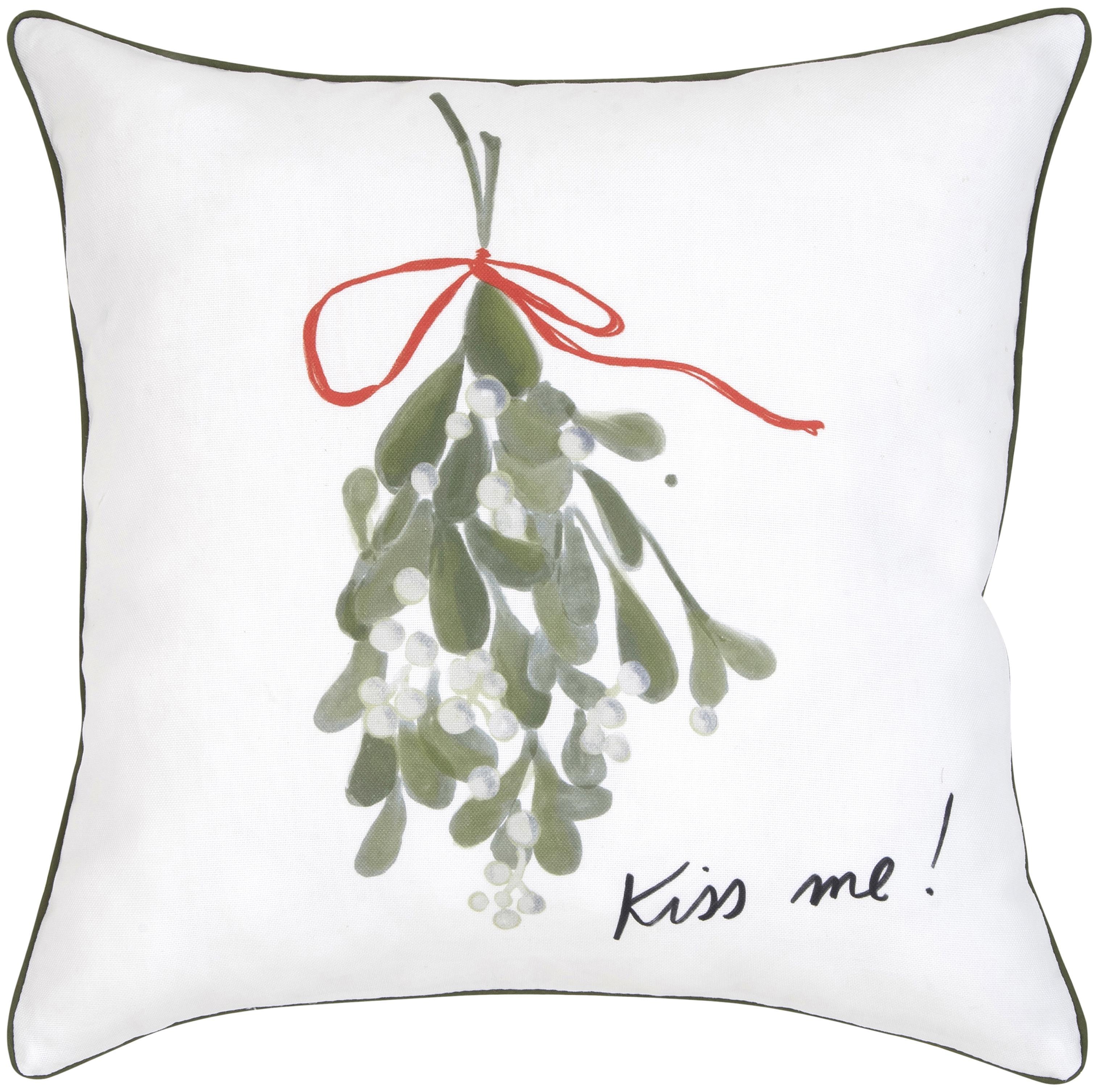 Funda de cojín Kiss Me diseño Kera Till, 100%algodón, Multicolor, An 40 x L 40 cm