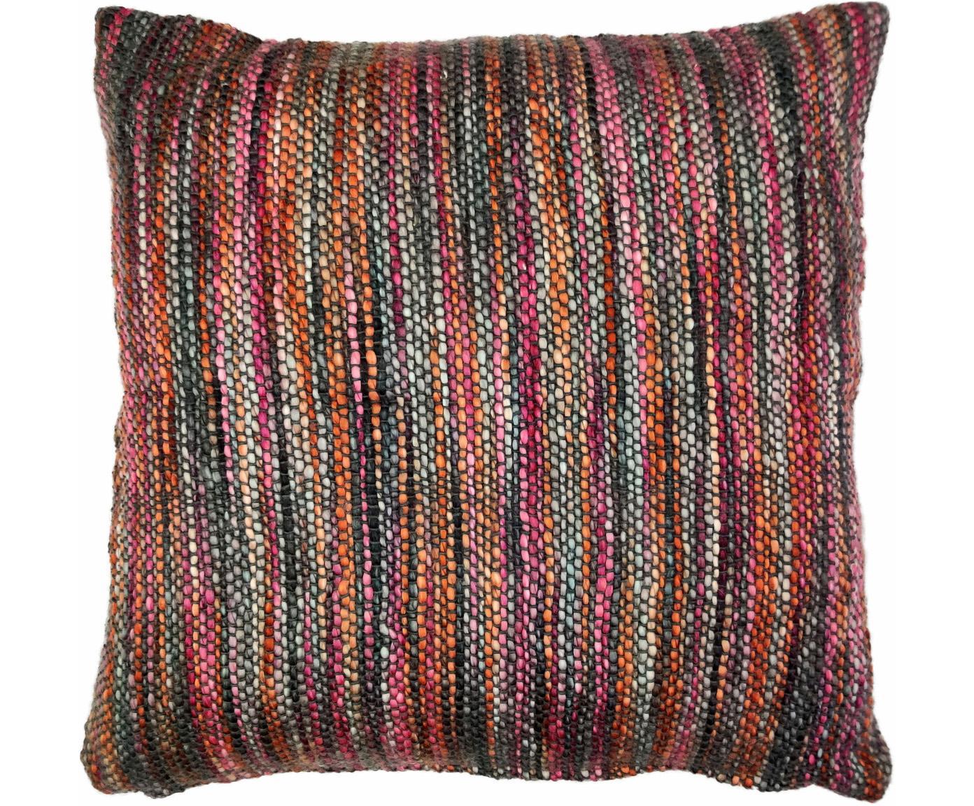 Cuscino colorato con imbottitura Tye, Rivestimento: 95% cotone, 5% acrilico, Multicolore, Larg. 45 x Lung. 45 cm