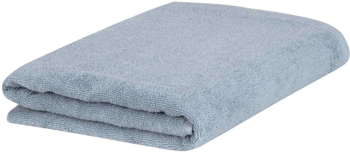 Asciugamano in tinta unita Comfort, diverse misure, Azzurro, Asciugamano per ospiti