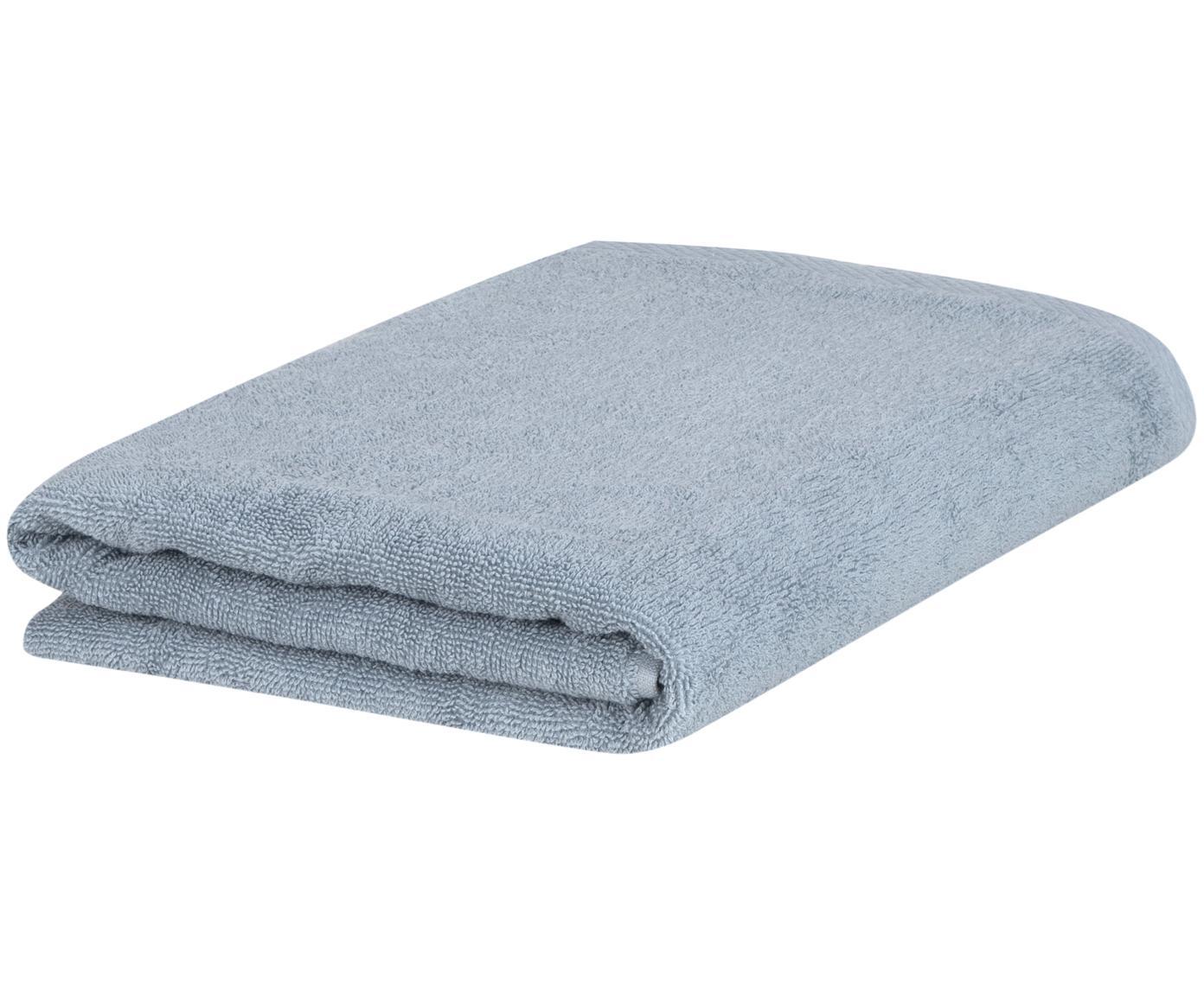 Eenkleurige handdoek Comfort, 100% katoen, middelzware kwaliteit, 450 g/m², Lichtblauw, Gastendoekje