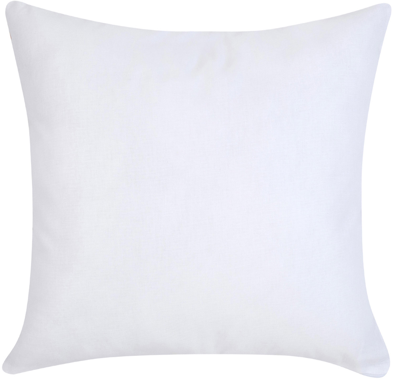 Designer Kissenhülle Body von Kera Till, 100% Baumwolle, Weiß, Beige, Braun, 40 x 40 cm