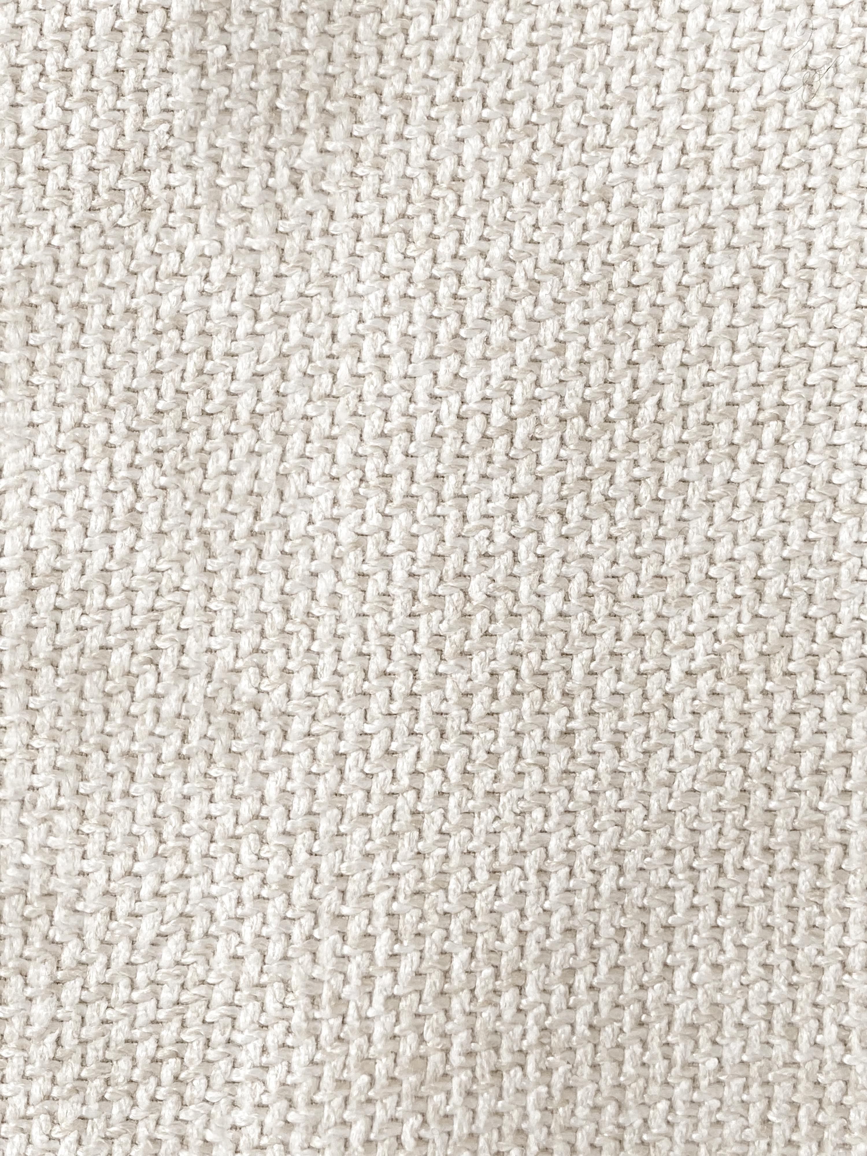 Divano componibile 3 posti in tessuto beige Lennon, Rivestimento: poliestere 35.000 cicli d, Struttura: legno di pino massiccio, , Piedini: materiale sintetico, Tessuto beige, Larg. 238 x Prof. 119 cm