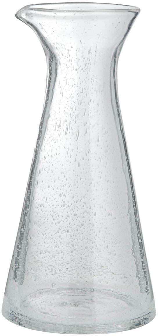 Caraffa in vetro Bubble, Vetro soffiato, Trasparente con bolle d'aria, 250 ml