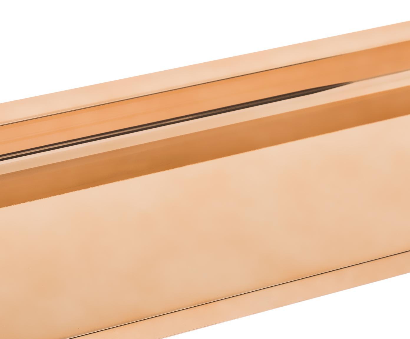 Półka ścienna Shelfish, Tworzywo sztuczne, Odcienie miedzianego, S 45 x W 4 cm