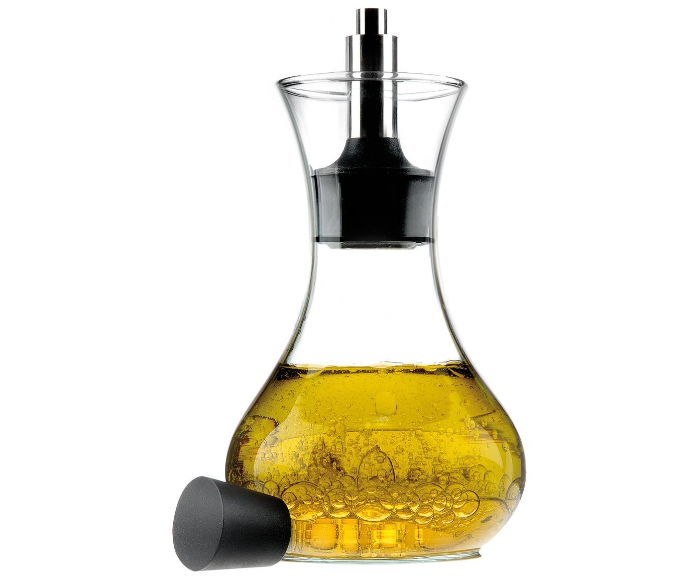 Dressing shaker Eva Solo, Glas, edelstaal, kunststof, Transparant, zwart, edelstaalkleurig, 250 ml