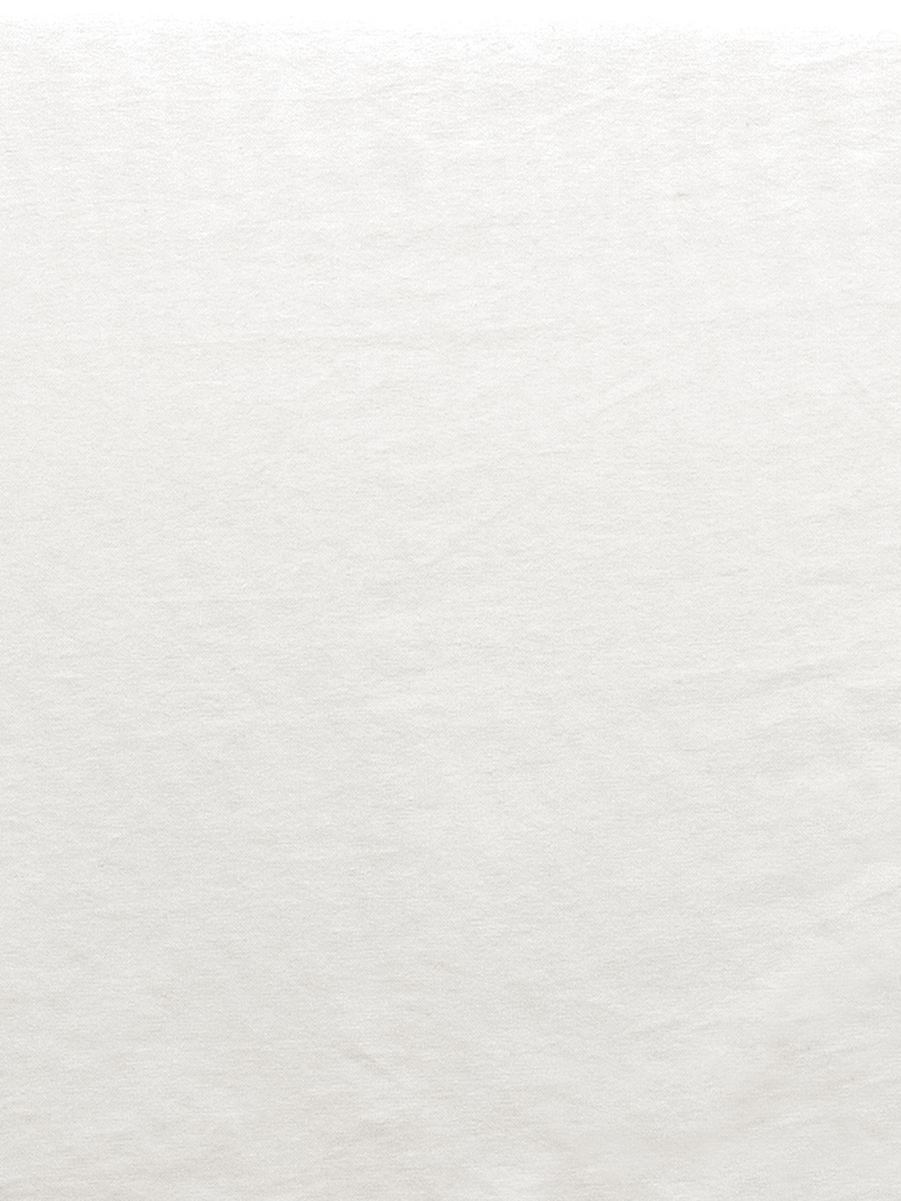 Zitbank met  kussens Mila (3-zits), Bekleding: katoen, Frame: massief vurenhout, Poten: kunststof, Crèmewit, B 195 x D 82 cm