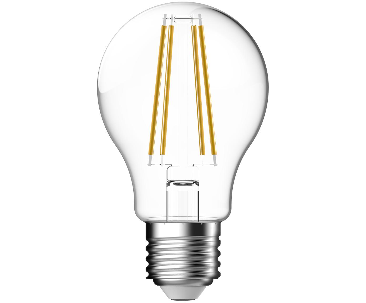 Lampadina a LED Clear (E27 / 7Watt), Lampadina: vetro, Trasparente, Ø 6 x Alt. 11 cm