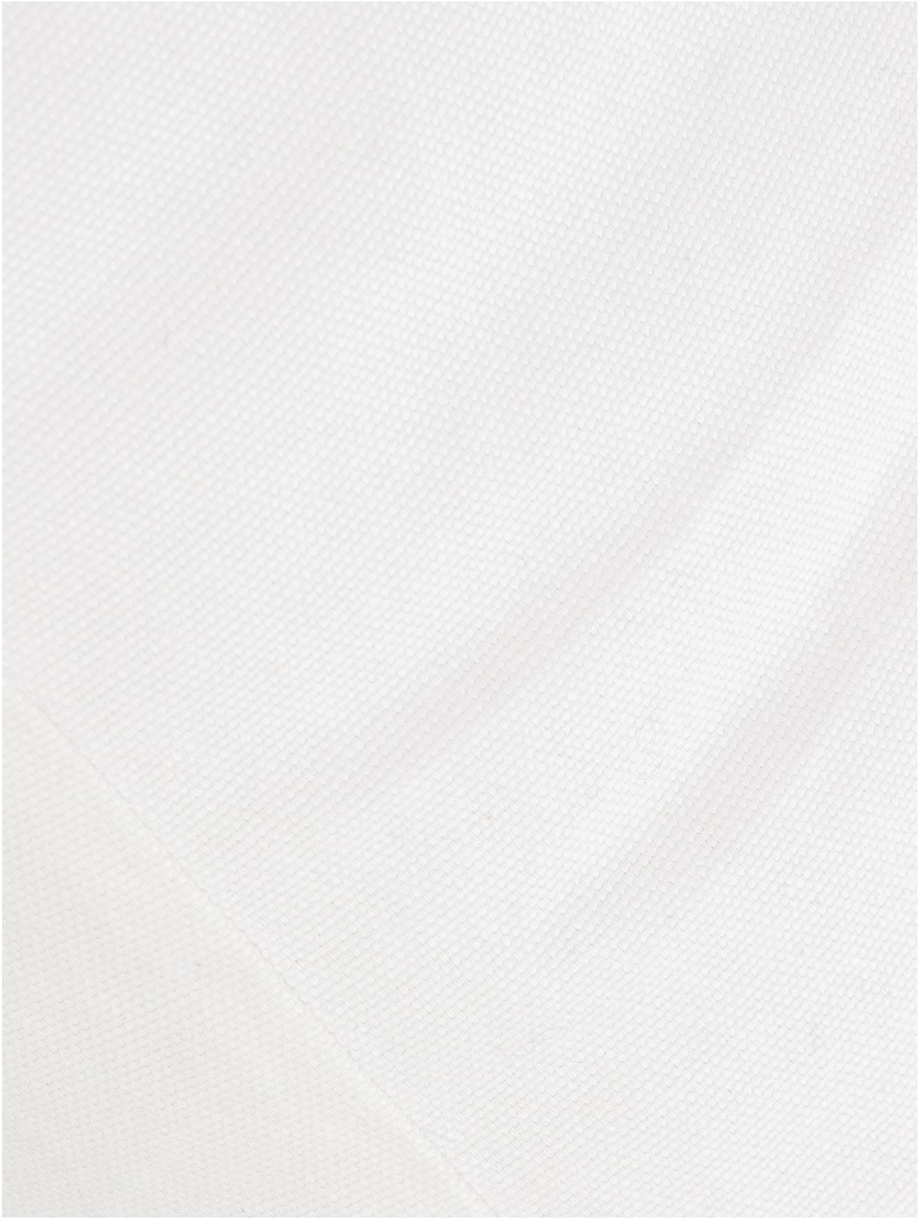 Bambus-Daybed Blond mit Liegepolster, Rahmen: Bambus, Bezug: Baumwolle, Bambusholz, Weiss, B 185 x T 78 cm