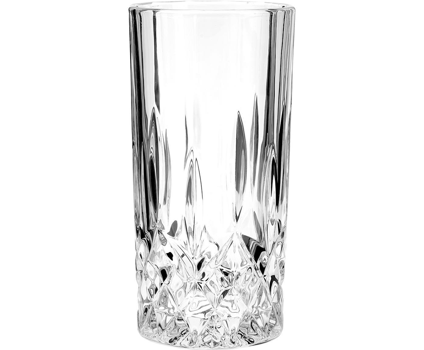 Szklanka do koktajli George, 4 szt., Szkło, Transparentny, Ø 8 x W 15 cm