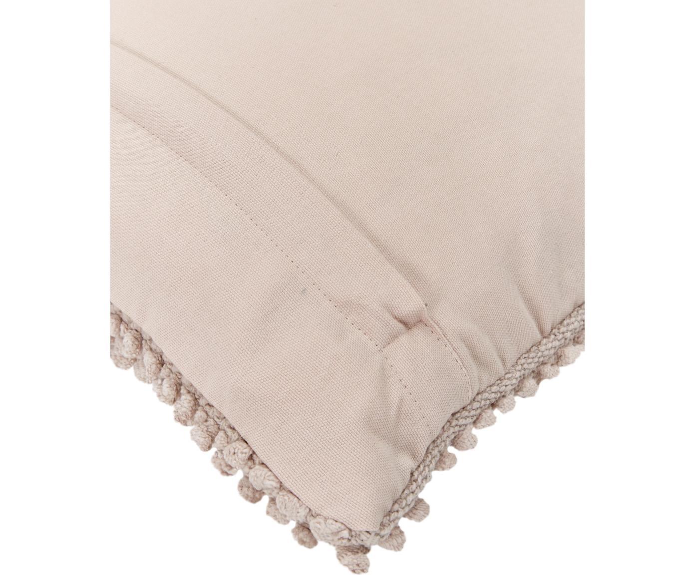 Poduszka z wypełnieniem Indi, Brudny różowy, S 45 x D 45 cm