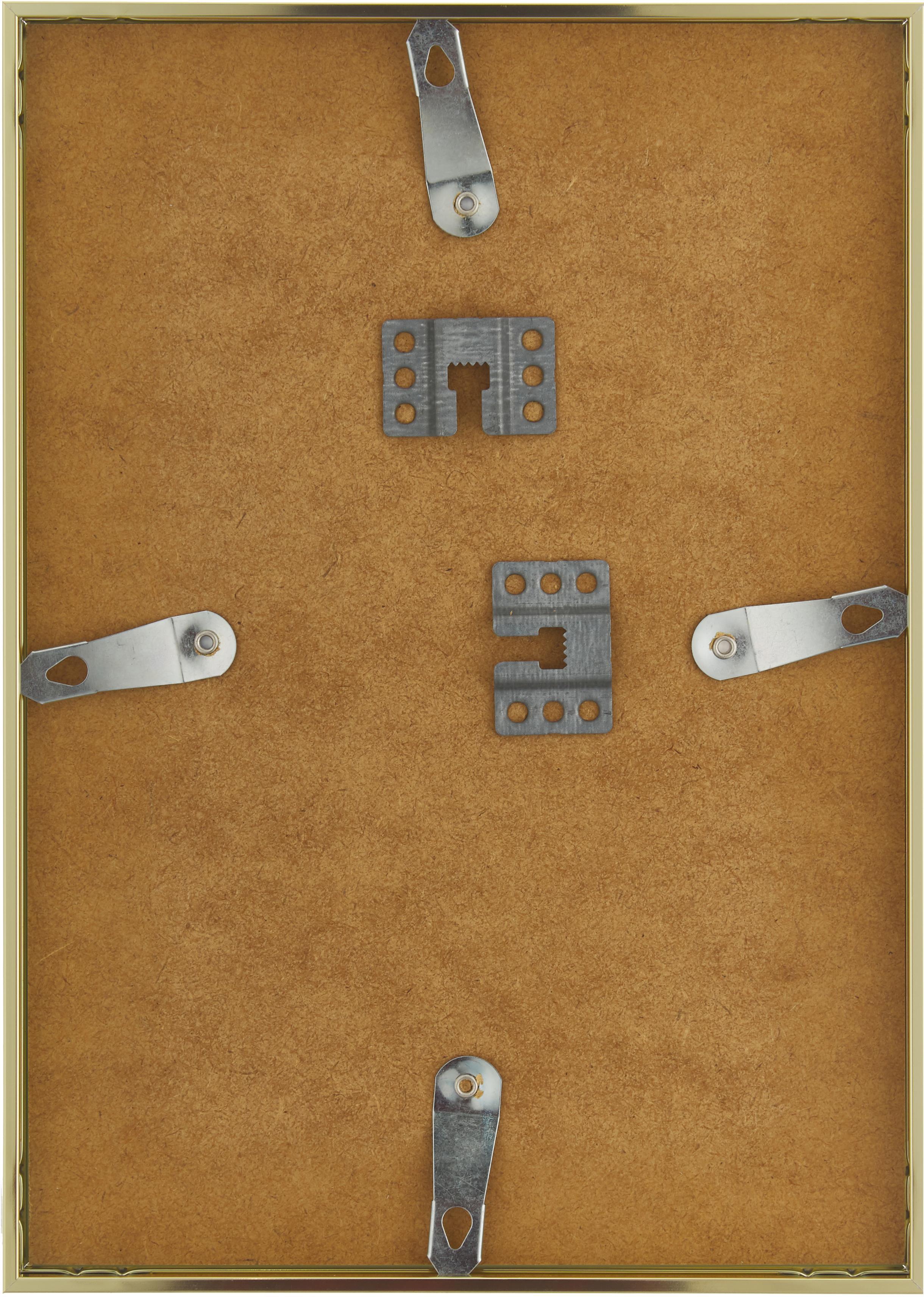 Ramka na zdjęcia Accent, Odcienie mosiądzu, 21 x 30 cm
