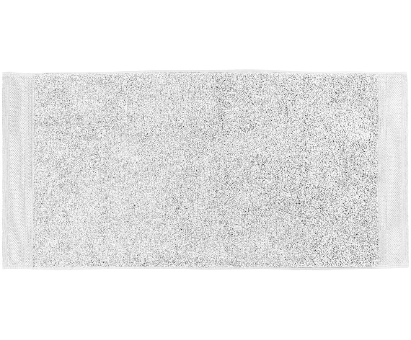 Komplet ręczników Premium, 3 elem., 100% bawełna, Wysoka gramatura 600 g/m², Jasny szary, Różne rozmiary